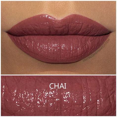 bite beauty amuse bouche lipstick  chai review