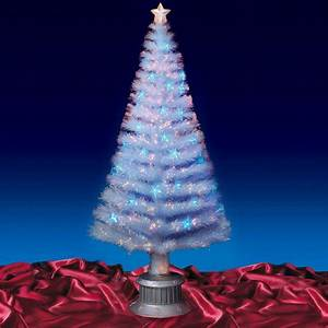 Beautiful 6ft 180cm Transparent Fibre Optic Christmas Tree ...