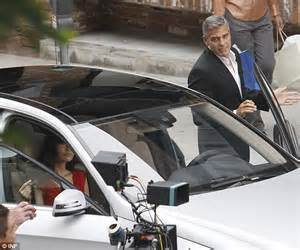 George Clooney Stars In Mercedes Benz Advert Daily Mail