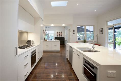 galley style kitchens graceville modern kitchen by makings of kitchens 1186