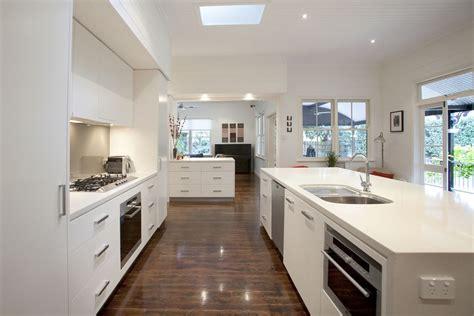 Kitchen Layout Ideas Galley - graceville modern kitchen by makings of fine kitchens