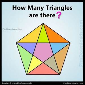 How Many Triangles Are There  Math Puzzles With Answer