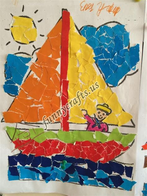 paper collage crafts ideas 2 171 preschool and homeschool 629 | paper collage crafts ideas 2