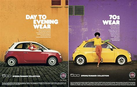 Fiat 500 Ad by A Way To Make Customers Feel Like A Car Is A Trend It Is