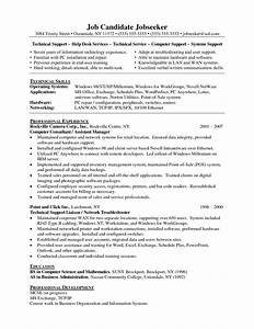 Technical Support Resume Example Resumes Design