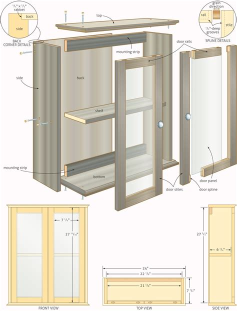 cabinet making plans free free woodworking plans bathroom cabinets quick