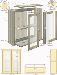 free woodworking plans bathroom cabinets quick With bathroom construction plans