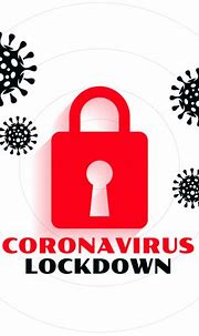 Coronavirus pandemic covid-19 lockdown concept background ...