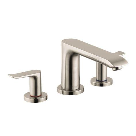 bathtub faucet kit hansgrohe metris 2 handle deck mount tub faucet trim