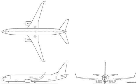 boeing 737 plan sieges boeing 737 bbj2 plans aerofred free model