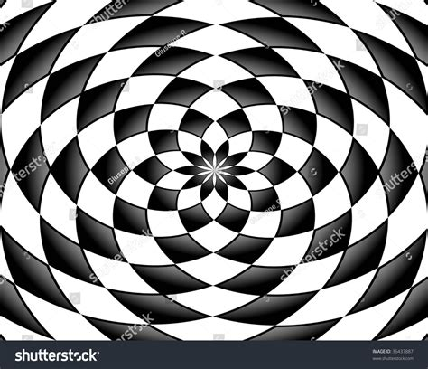 Abstract Shapes Black by Black And White Abstract Shapes Effect Stock Photo