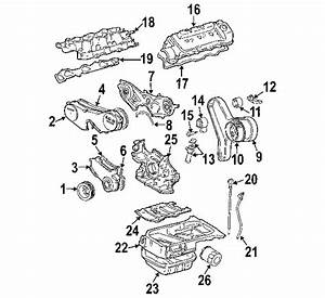 2000 Toyota Solara Manual Transmission Parts Diagram