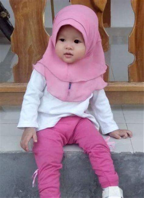 jual jilbab bayi 0 2 th tumpuk pink baby hanaroo