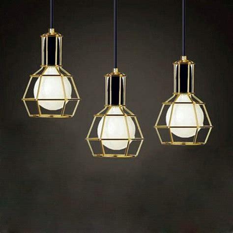 hanging lights for living room american vintage edison pendant ls chrome bulb holder
