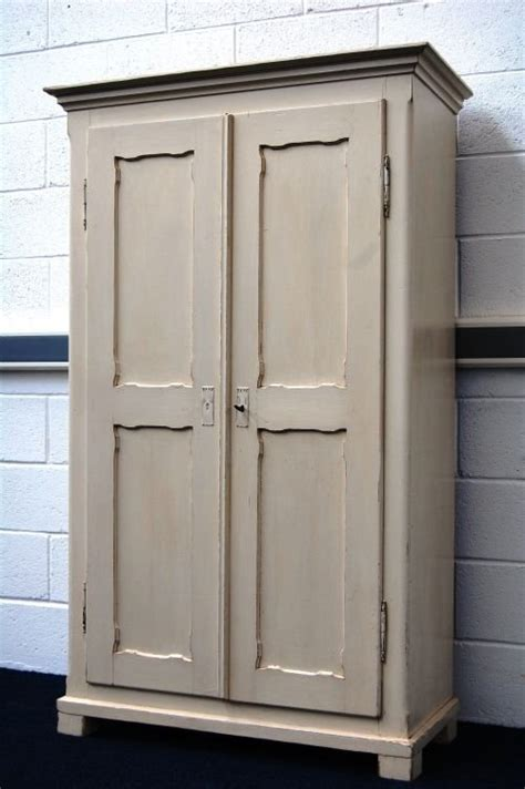 Linen Cupboard Storage by Antique Painted Pine Country Linen Storage Cupboard