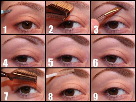 How To Put On Eyebrow Makeup Powder Makeup Vidalondon