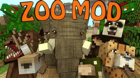 minecraft crazy zoo animals mod showcase mobs mod
