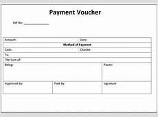 Payment Voucher Template Word