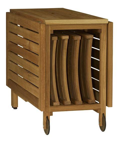 table pliante avec rangement pour chaise maison design