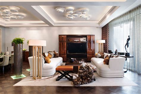 House With Hints Of Deco Detailing And A Smooth Neutral Palette house with hints of deco detailing and a smooth