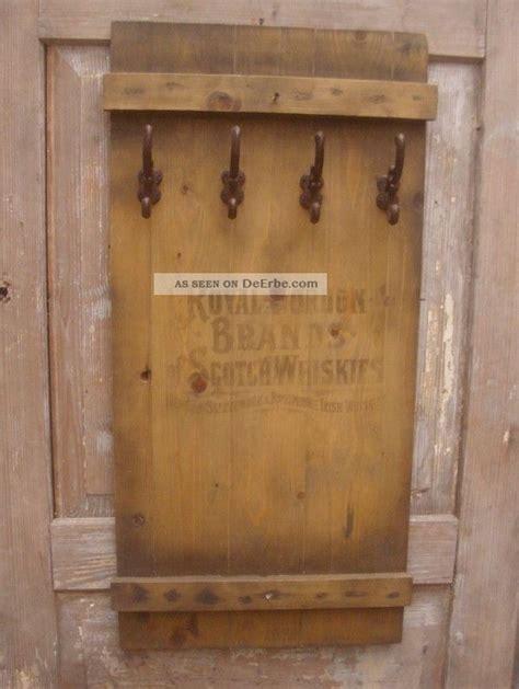 shabby vintage garderobe scotch whisky kistendeckel