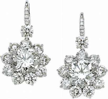 Diamond Earrings Jewelry Jewellery Transparent Earring Clipart