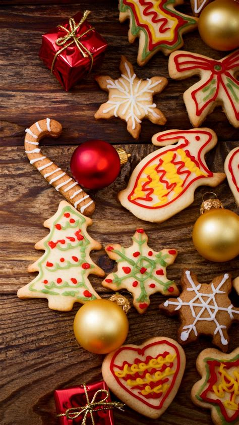 wallpaper christmas  year cookies  holidays