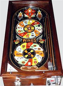 1933 Rockola Wings Pinball Fully Mechanical  Pre