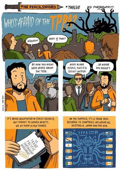 Comic Pacific Comics Trans Afraid Tppa Nz