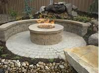 inspiring patio design fire pit ideas Raised Fire Pit - Fire Pit Ideas