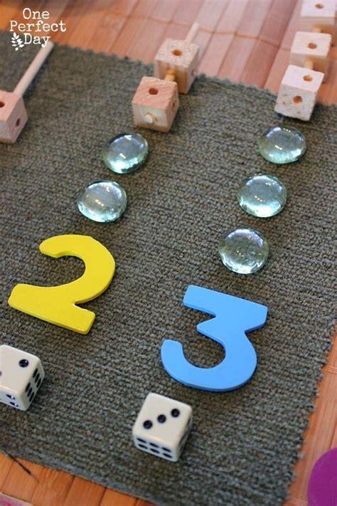 preschool math games  loose parts ages