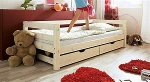Kinderbett Mit Absturzsicherung : kinderbett in wei aus kiefer t v gepr ft kids paradise basic ~ Eleganceandgraceweddings.com Haus und Dekorationen