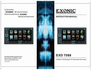 Exonic Exd 7088 User Manual