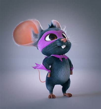 Character Mouse Philip Ava Dave Characters Super
