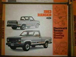 1982 Ford Ranger Evtm Electrical Shop Service Manual