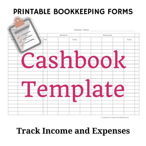 cashbook page template till float template image collections template design ideas