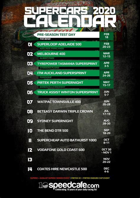 supercars championship calendar  speedcafe issuu