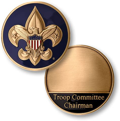 Cub Scout Committee Chair by Boy Scouts Troop Committee Chairman Coin