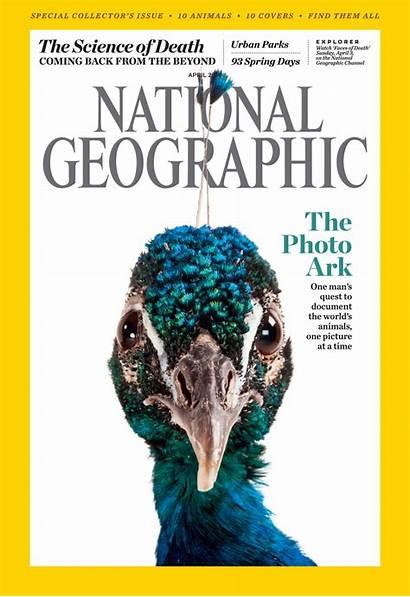 Geographic National Sartore Joel Animals April Magazine