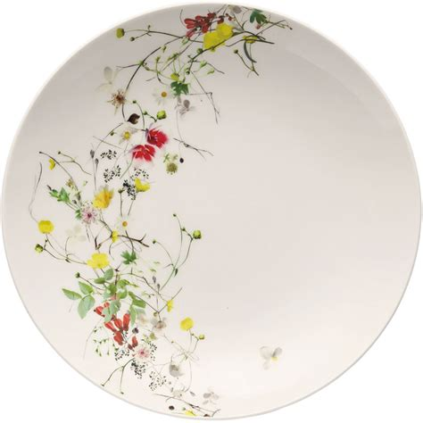 Rosenthal Fleurs Sauvages by Rosenthal Selection Brillance Fleurs Sauvages Suppenteller