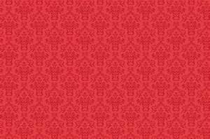 Damask Pattern Background Red Free Stock Photo - Public ...