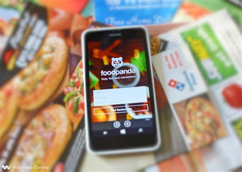 order out for dinner with the new foodpanda app for windows phone windows central
