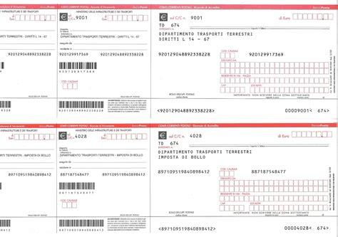 Ufficio Motorizzazione Bologna - come compilare bollettino intestazione bollettini rinnovo