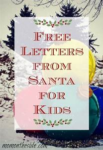 25 best ideas about free letters from santa on pinterest With letter back from santa