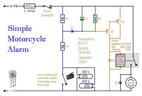 build  simple motorcycle alarm
