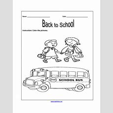 Englishlinxcom  Back To School Worksheets