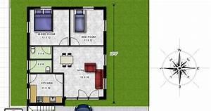Bharat Dream Home 2 Bedroom Floor Plan800sq Fteast Facing