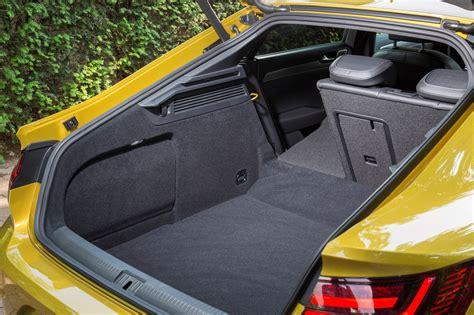 volkswagen arteon trunk volkswagen arteon review parkers