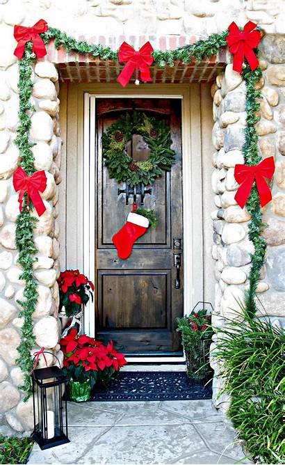 Door Christmas Garland Decor Decorations Gift Wreaths