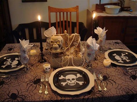 Adult Pirate Party Themed Table  Let's Party! Pinterest